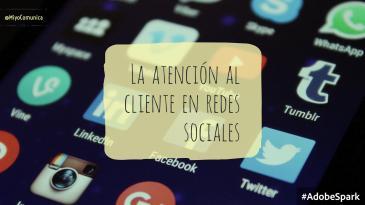 la atención al cliente en las redes sociales