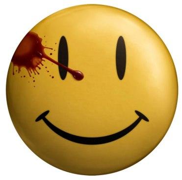 Smiley original ensuciado con gota