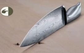 cuchillo corta mosca