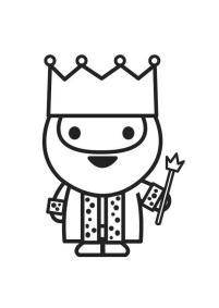 rey dibujo